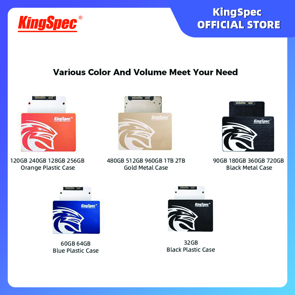 KingSpec hdd 2.5 120gb 240 gb 480gb SATA III 3 Internal Solid State Drive Laptop