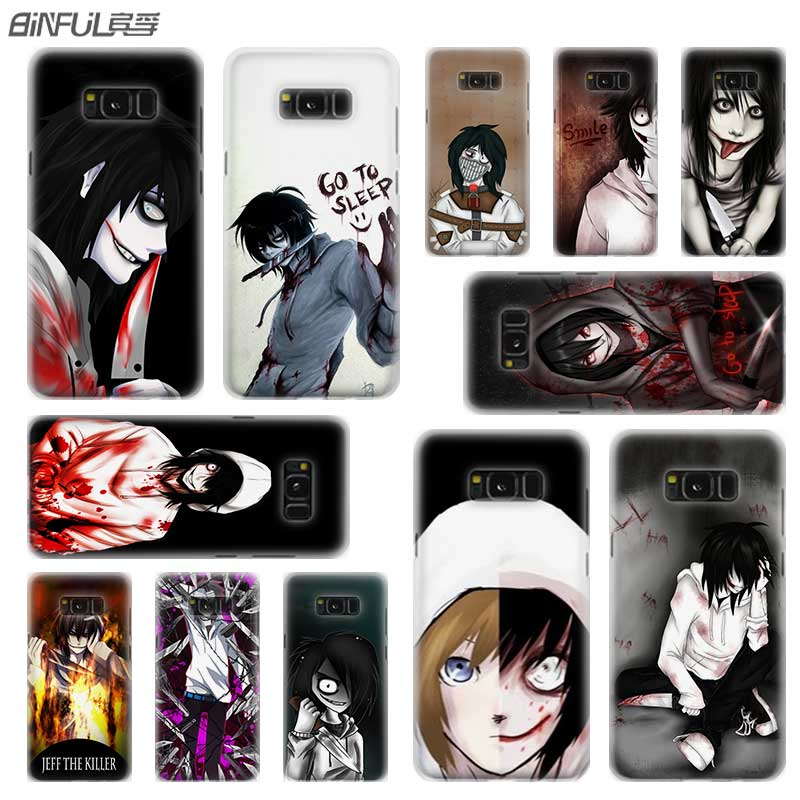 BINFUL case cover hard Transparent for font b Samsung b font S9 S8 S7 S6 S5