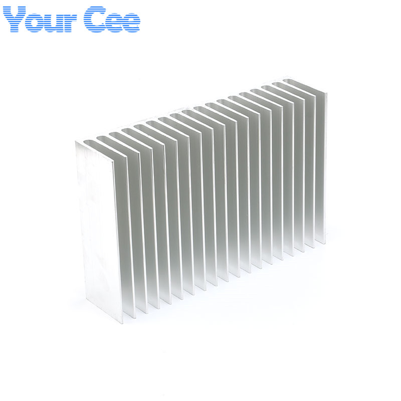 Image 3 - 1 pc 182*120*44.5mm Heatsink Cooling Fin Aluminum Radiator Cooler Heat Sink for LED, Power IC Transistor, Module 182*120*44.5mm-in Integrated Circuits from Electronic Components & Supplies