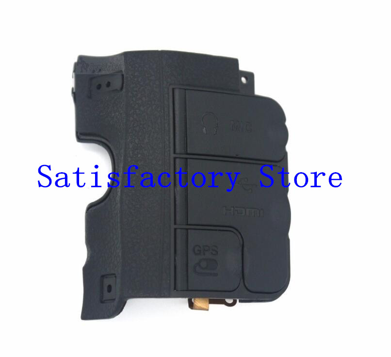 95%NEW Original USB Cover Shell With MIC HDMI GPS Rubber For Nikon D600 D610 Camera Replacement Unit Repair Part