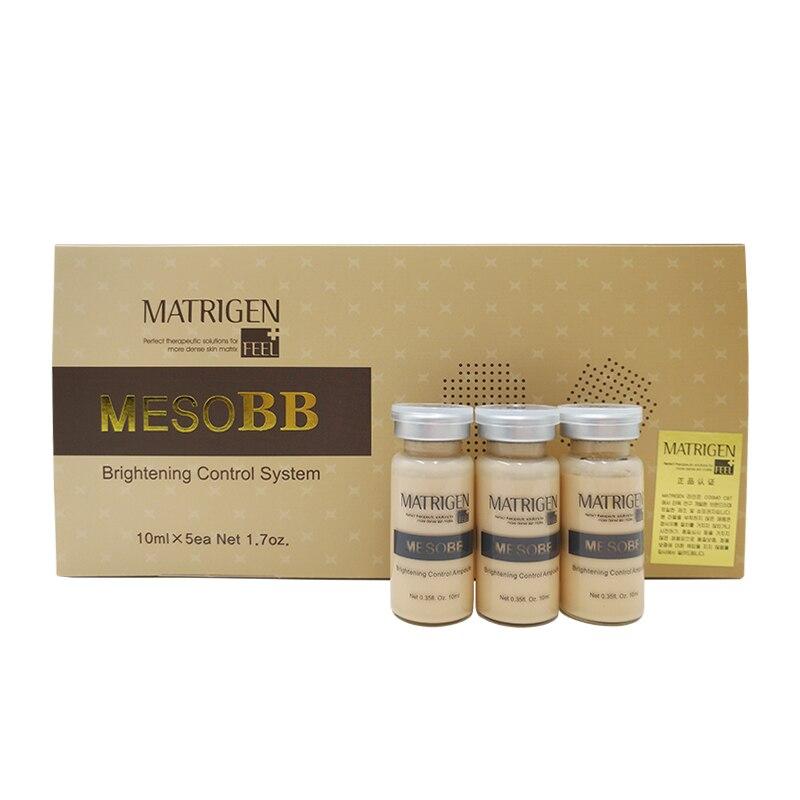 Matrigen MesoBB système de contrôle éclaircissant Ampoule soin de la peau traitement lumineux
