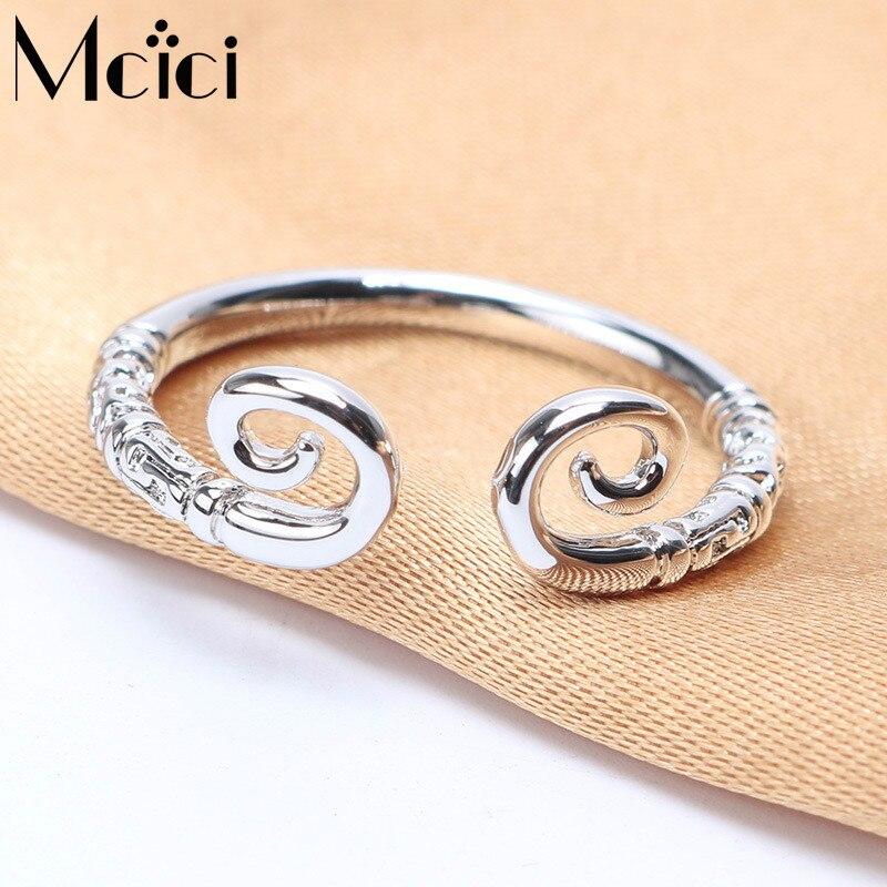 ᗚVintage Tibet perak Octopus Cincin Perak Disepuh Adjustable Finger ... 8e1753e1c24f