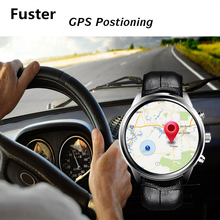 Fuster Android OS 5.1 RAM2GB+ROM16GB Smart Watch with Heart Rate Monitor Sensor 3G Wifi GPS Intelligent Clock for Android IOS