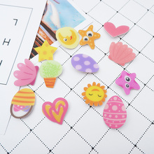1 PC Cartoon Icons Acrylic Badges for Backpack Clothes Plastic Badge Kawaii Pin brooch