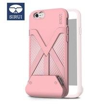 SIRUI โทรศัพท์มือถือเปลือก Bluetooth รีโมทคอนโทรล JACKET Case สำหรับ iPhone 7