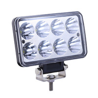 4 Inch 24W 10V 32V CREE LED Work Light Square Spot Flood LED Car Lamp For