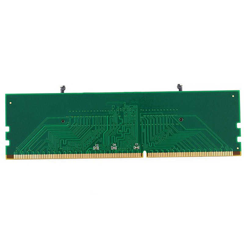 New 1pc DDR3 Laptop SO-DIMM to Desktop DIMM Memory RAM Connector Adapter DDR3 Wholesale Drop Shipping