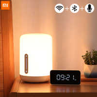 Xiaomi Mijia Bedside Lamp 2 Smart Table LED Night Light Bulb Colorful Bluetooth WiFi Voice Control Works with Apple HomeKit Siri