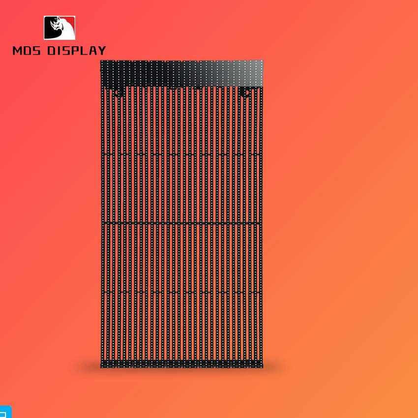 ultra thin P8 led mesh advertising led panel, outdoor smd rgb