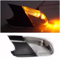 Car Styling Rearview Mirror Turn Signal Light Lights Led Lamps Bar Lighting For SKODA OCTAVIA 1Z5