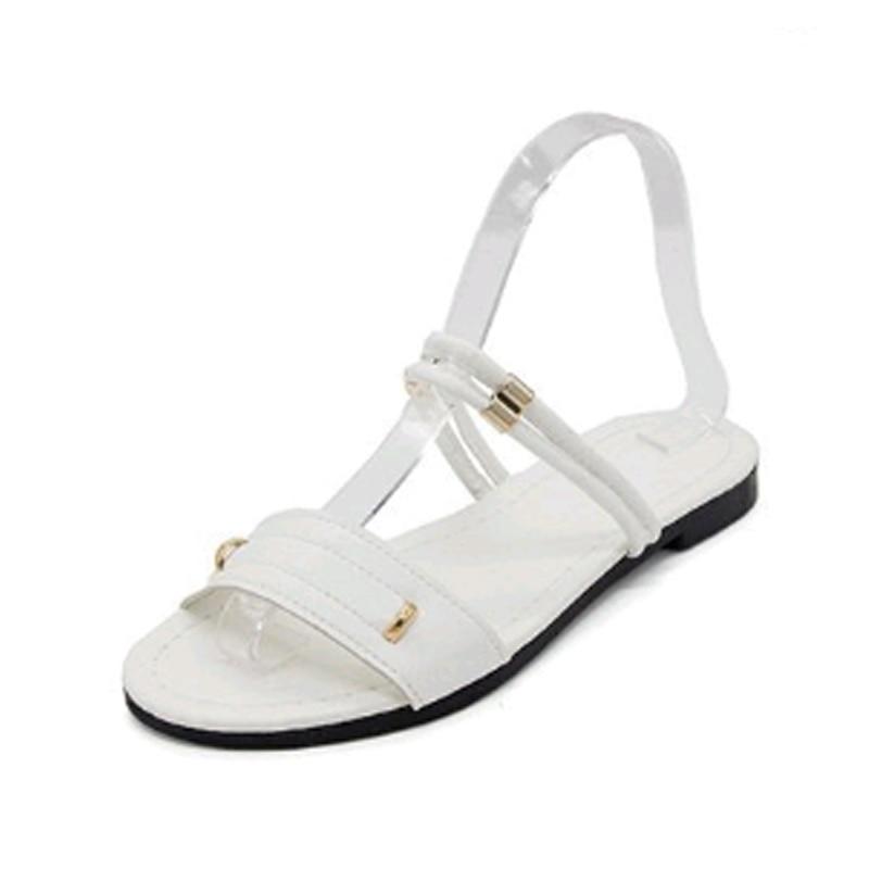 Nuevo patrón de zapatos de verano mujeres Ocio chanclas sandalias - Zapatos de mujer