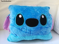 lovely cartoon stitch plush toy about 35x30cm muff,warm hands ,birthday gift, Christmas gift h696
