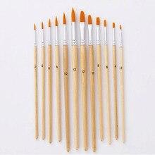 Nylon Paint Brush Set