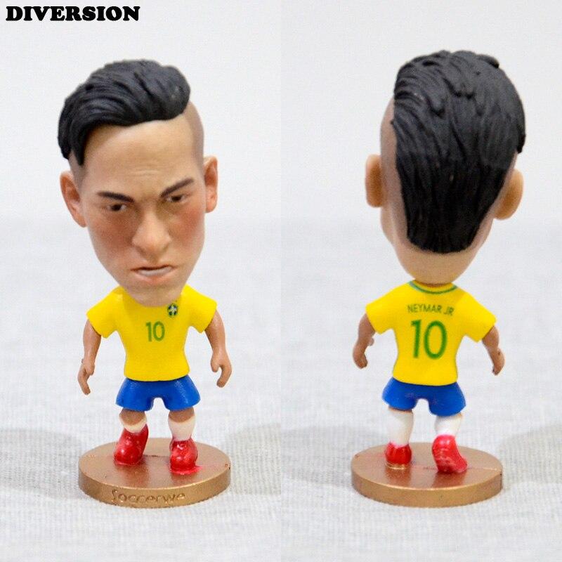 DIVERSION Soccer Player Star 10# Neymar (BR-2016) 2.5 Toy Doll Figure eicher agricultural development in the third world