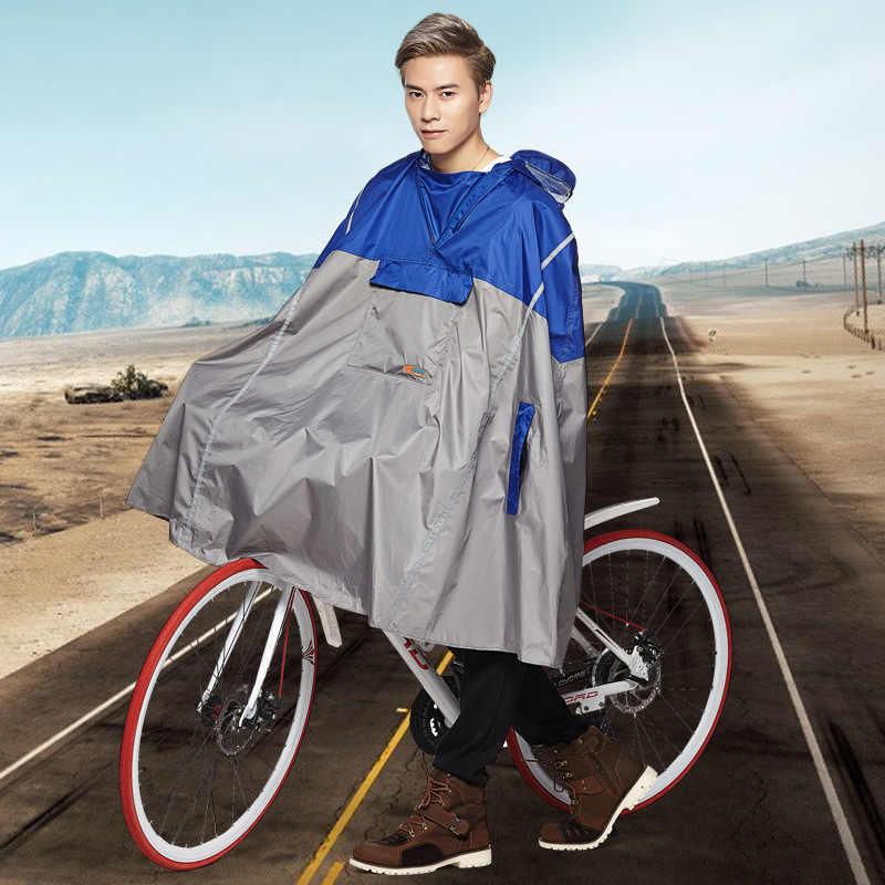 Revestimento da motocicleta ciclismo capa de chuva poncho impermeável das mulheres dos homens de bicicleta de estrada MTB montanha TPU bicicleta casacos de chuva