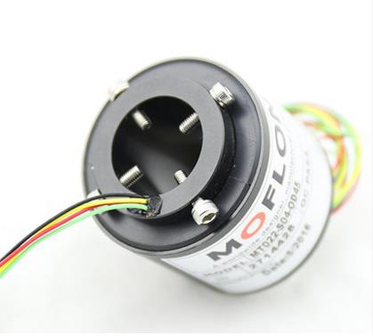 MOFLON slipring through bore slip ring hole size 20mm OD42mm 10X5A electric slip ring