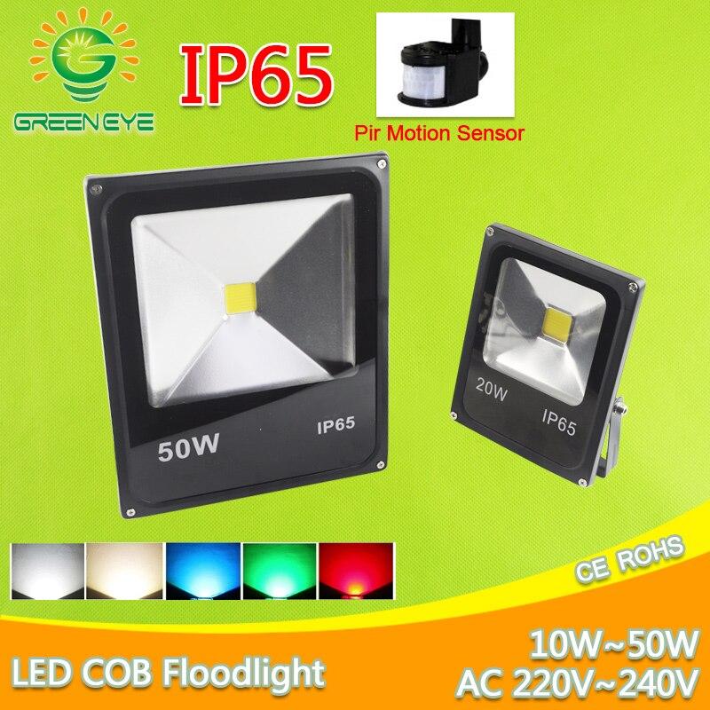 LED Flood Light 10W 20W 30W 50W AC 220V 240V Floodlight LED Spotlight Outdoor Lighting Projector Reflector Wall Lamp Garden