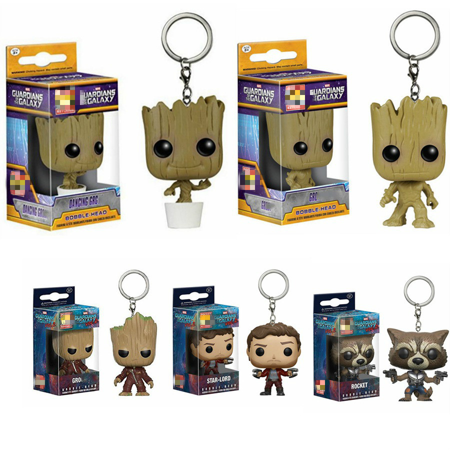 action-font-b-marvel-b-font-guardians-of-the-galaxy-keychain-toys-dancing-groot-rocket-star-lord-quill-rocket-model-toys-gifts-pocket-keychain