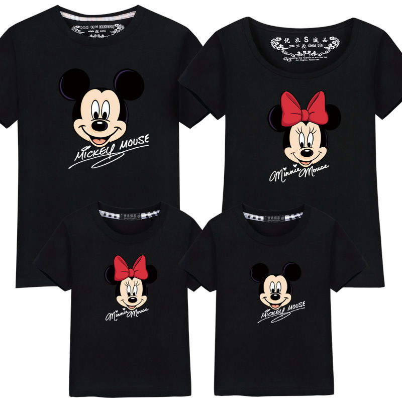 Matching Household Outfits Greatest Pal Tshirt Cartoon Mickey Printed Informal T Shirt Household Look Mom Son Dad Daughter Garments Aliexpress, Aliexpress.com, On-line purchasing, Automotive, Telephones & Equipment, Computer systems...
