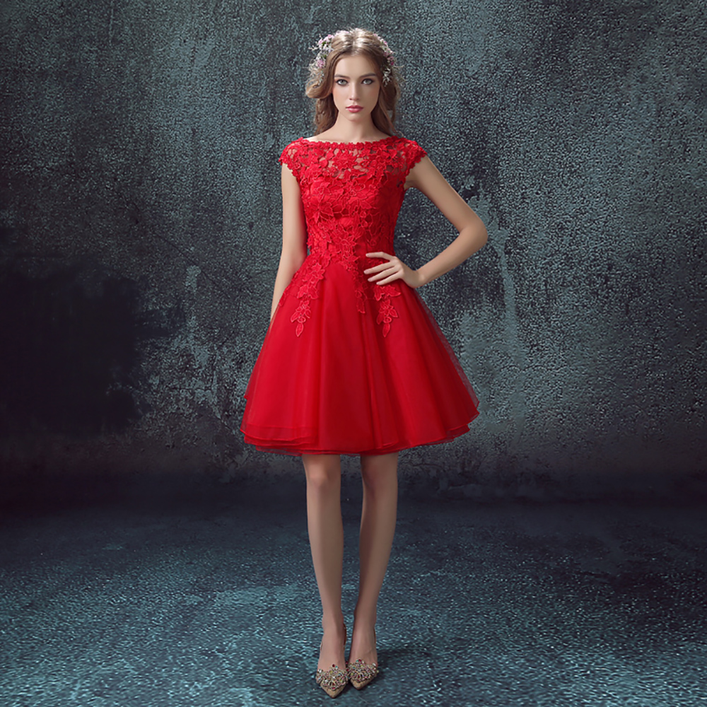 Cheap Red Dresses For Sale