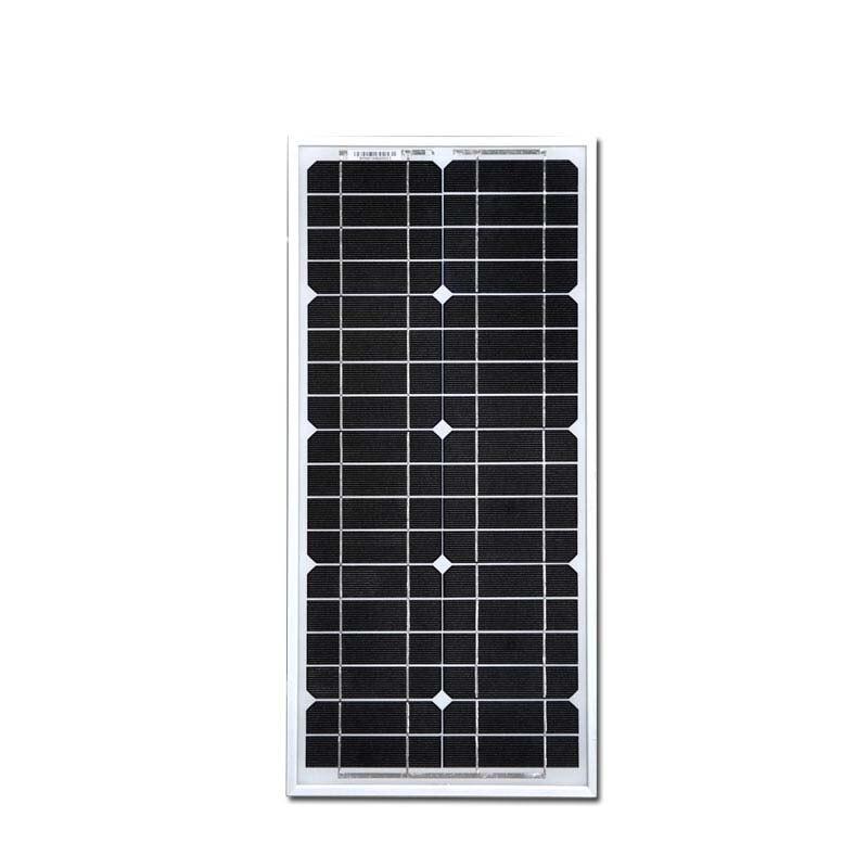 18v Panel Solar 20W 12V Monocrystalline Energia Fotovoltaica Battery  Pannelli FotovoltaiciSolar Module