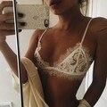 2016 moda de nova chegada sutiã de renda transparente roupa interior Sexy Lingerie