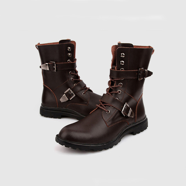 Motorcycle Martin Boots 5