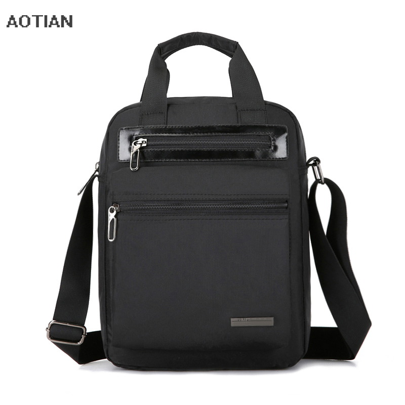 2018 New Fashion Men's Travel Handbags High Quality Man Messenger Bag Waterproof nylon Male Crossbody Business bag Shoulder Bags