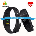 Makibes ID107 Bluetooth 4.0 Smart Bracelet PK mi band 2 Heart Rate Monitor Wristband Fitness Tracker for Android iOS Smartphone