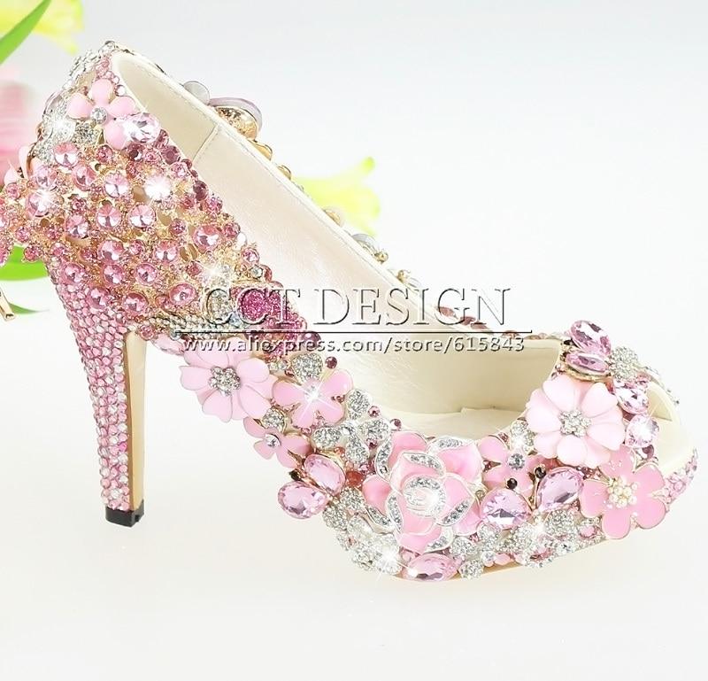 Black high heels for women 2017 qu heel part 20 pink flower heels mightylinksfo