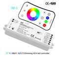 Беспроводная Светодиодная лента VP 2 4G RGBW/RGB/CCT/затемнение 4CH DC12-24V 12A 4 в 1  контроллер освещения  RGB/RGBW Пульт дистанционного управления R8-1