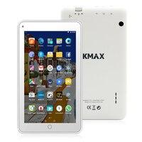MTK8163 KMAX 7 pulgadas IPS Quad Core CPU Android 6.0 Cámaras duales Bluetooth WIFI Tablet PC 16 GB ROM 1024*600 de Google tabletas