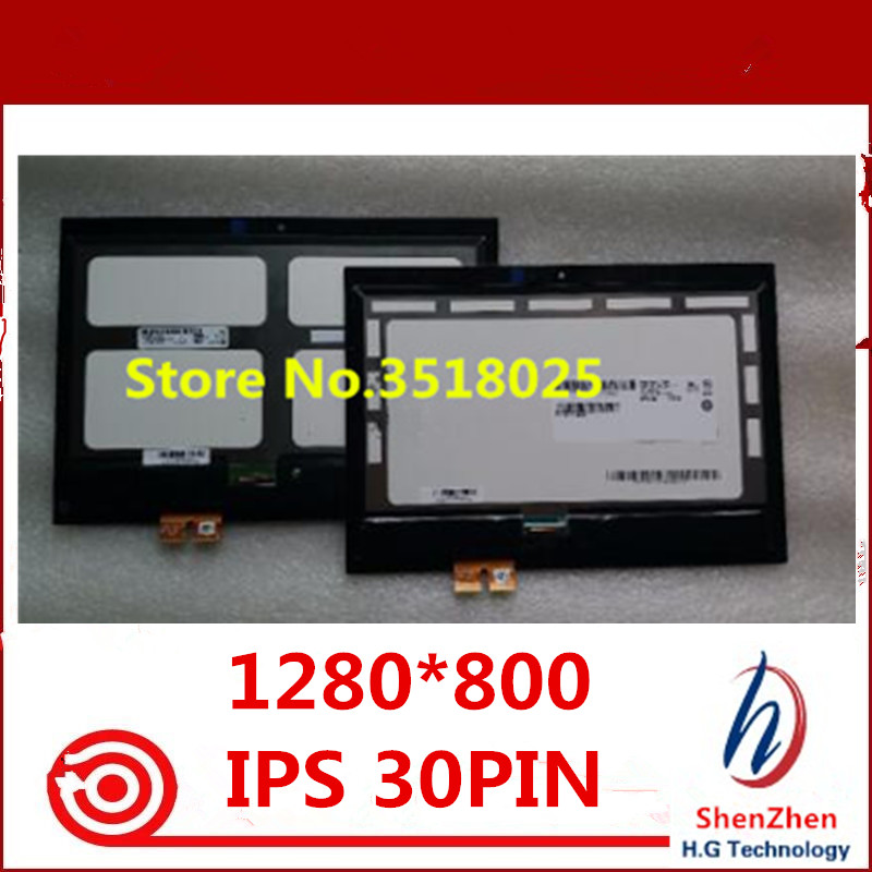 Original 1280 800 For HP Pavilion x2 210 G1 G2 B101EAN01 8 10 1 IPS LCD
