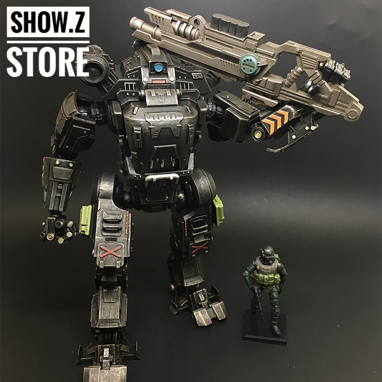все цены на [Show.Z Store] JoyToy Source Acid Rain UNF Zous Mecha Black Version Action Figure онлайн