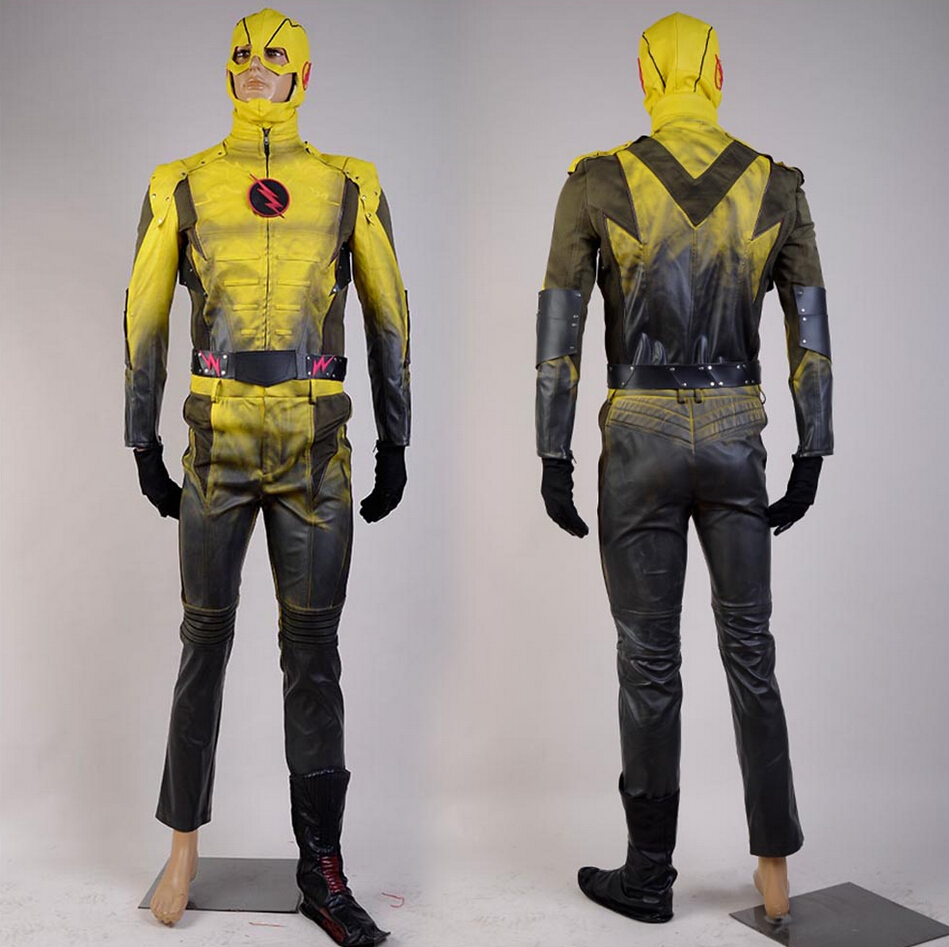 Movie The Flash Cosplay The Reverse-Flash Professor Zoom Eobard Thawne Cosplay Costume Halloween Costume Adult Men Custom Made