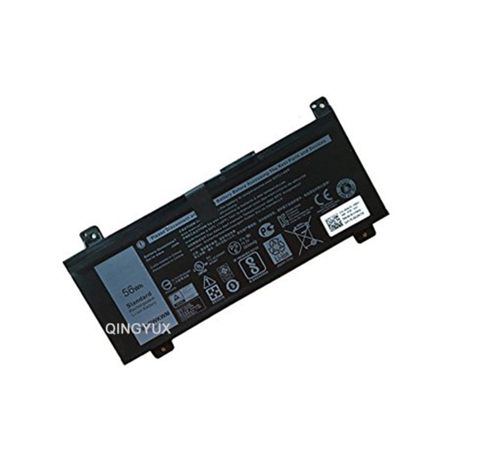 QINGYUX PWKWM New 15.2V 56Wh Laptop Battery for Dell PWKWM SeriesQINGYUX PWKWM New 15.2V 56Wh Laptop Battery for Dell PWKWM Series