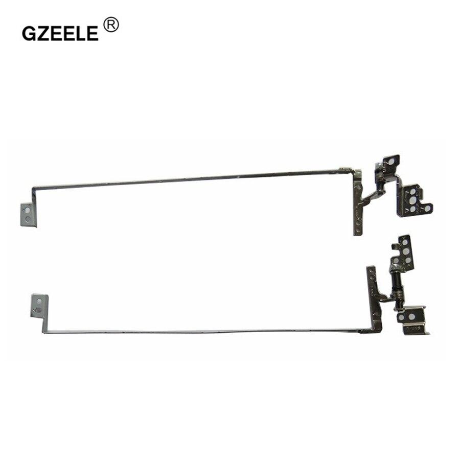 GZEELE LCD portátil de bisagra para IBM para Lenovo G580 G580A G585 Series PN: QIWG6.R QIWG6.L AM0N2000300 AM0N2000200 izquierda y derecha bisagras