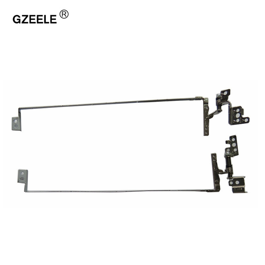 GZEELE Laptop LCD Hinge For IBM FOR Lenovo G580 G580A G585 Series PN: QIWG6.R QIWG6.L AM0N2000300 AM0N2000200 Left&Right HINGES