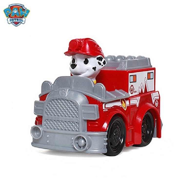 ของแท้ Paw Patrol dog Puppy patrol Patrulla Canina ของเล่นตัวเลขการกระทำของเล่น Chase marshall ryder รถเด็กของเล่น