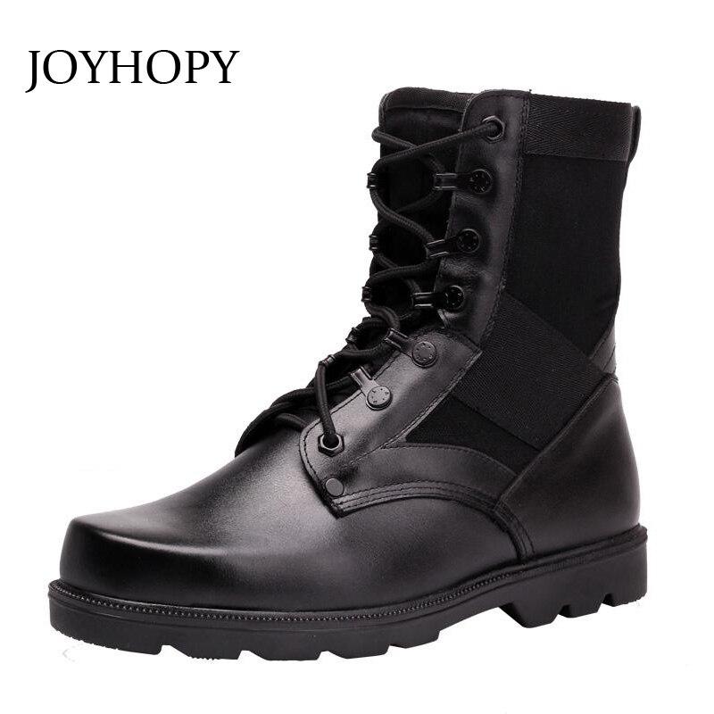 En Combat Hommes Bottes Tactiques Black Joyhopy Cuir De Amb2019 Chaussures Hiver Automne Véritable Désert cashmere Spécial Armée B0xxwg4fq