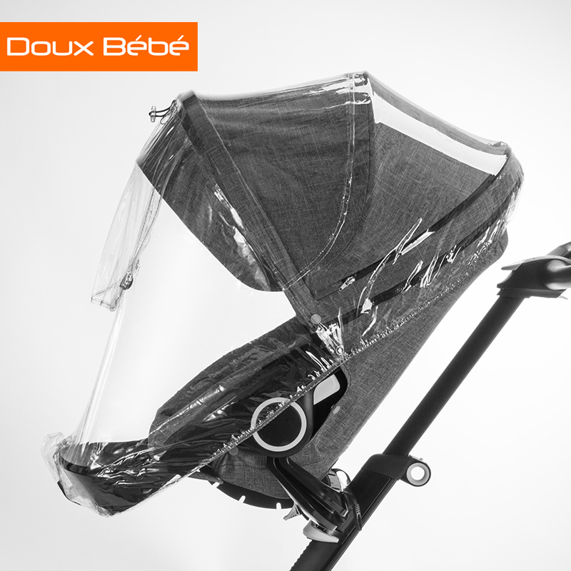 The British Douxbebe Doux Bebe Baby Stroller Accessories Raincover Car Seat Poncho