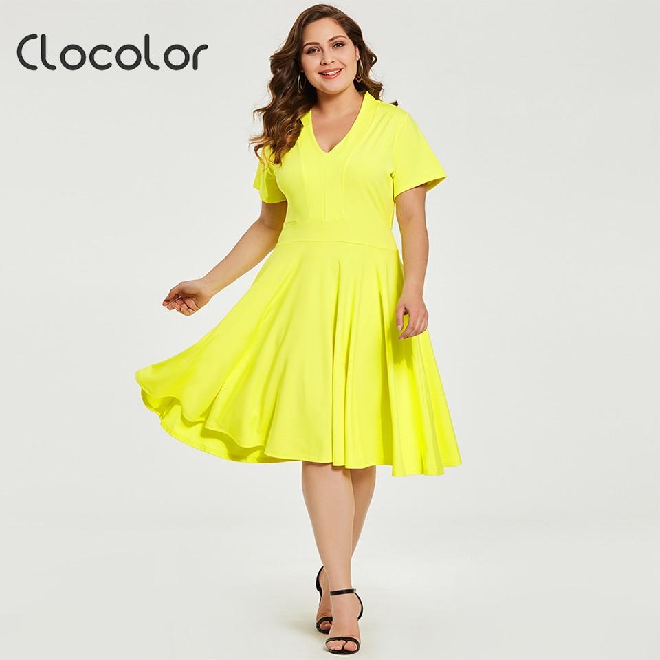 7361a929871 Yellow Short Sleeve Dress - Gomes Weine AG