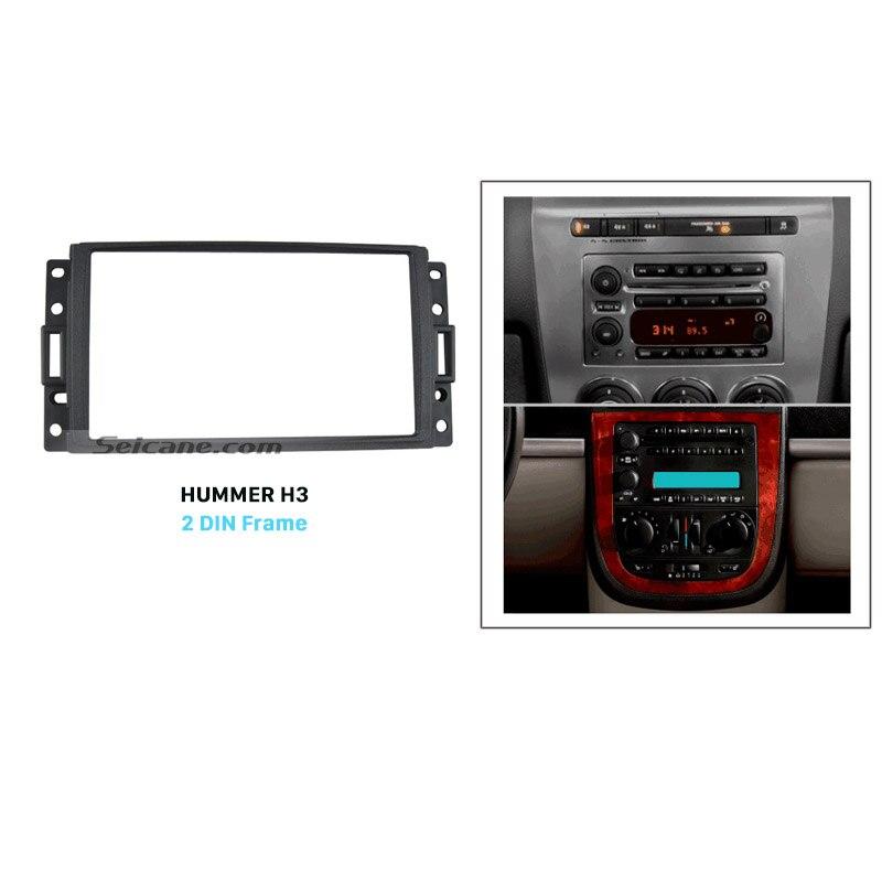 Seicane Double Din Car Radio Fascia For Hummer H3 Chevrolet Buick Rhaliexpress: Hummer H3 Radio Panel At Elf-jo.com