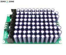 GZLOZONE Assembled H-P-O-S.CAP 84pcs 330uf 63V Low Impedance Amplifier Power Supply Array Board