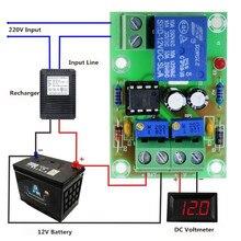 12V контроль зарядки аккумулятора XH-M601 интеллектуальное зарядное устройство Панель управления питанием автоматическая зарядка