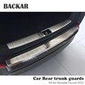Задний бампер для автомобиля Hyundai Tucson  1 шт.  2015  аксессуары  накладка на дверь багажника  защита от столкновений