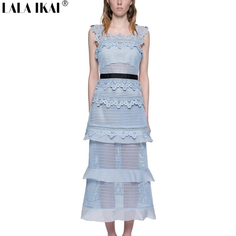 self portrait petunia panelled midi dress woman 2016 summer boho beach dresses women powder blue. Black Bedroom Furniture Sets. Home Design Ideas