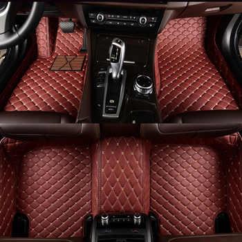 Custom car floor mats For Honda accord Civic CRV City HRV CR-Z Vezel Crosstour element fit crosstour car accessories arpet - DISCOUNT ITEM  0% OFF All Category