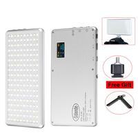Ultral Thin X 180 Portable LED Video Light On Camera High CRI Dimmable Photography Lighting DSLR Camera Lamp VS Iwata