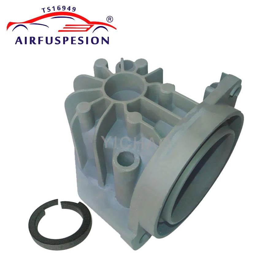 Bomba Compressor de ar Da Cabeça Do Cilindro Pistão Anel de Suspensão A Ar Para W220 W211 W219 A6 C5 A8 D3 Jaguar XJ6 LR2 2203200104 4E0616005F